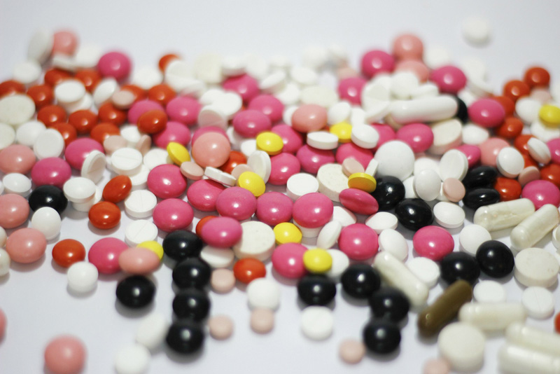 Model medicijnen in water