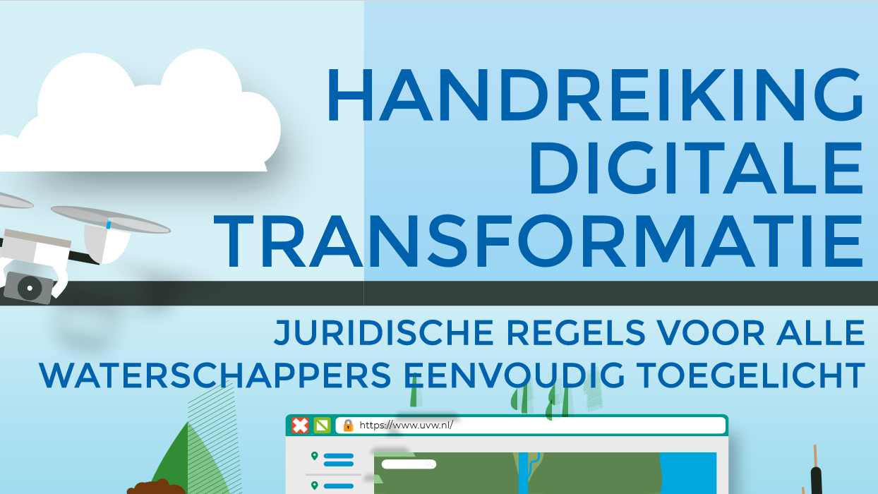 handreiking digitale transformatie waterschappen concrete handvatten