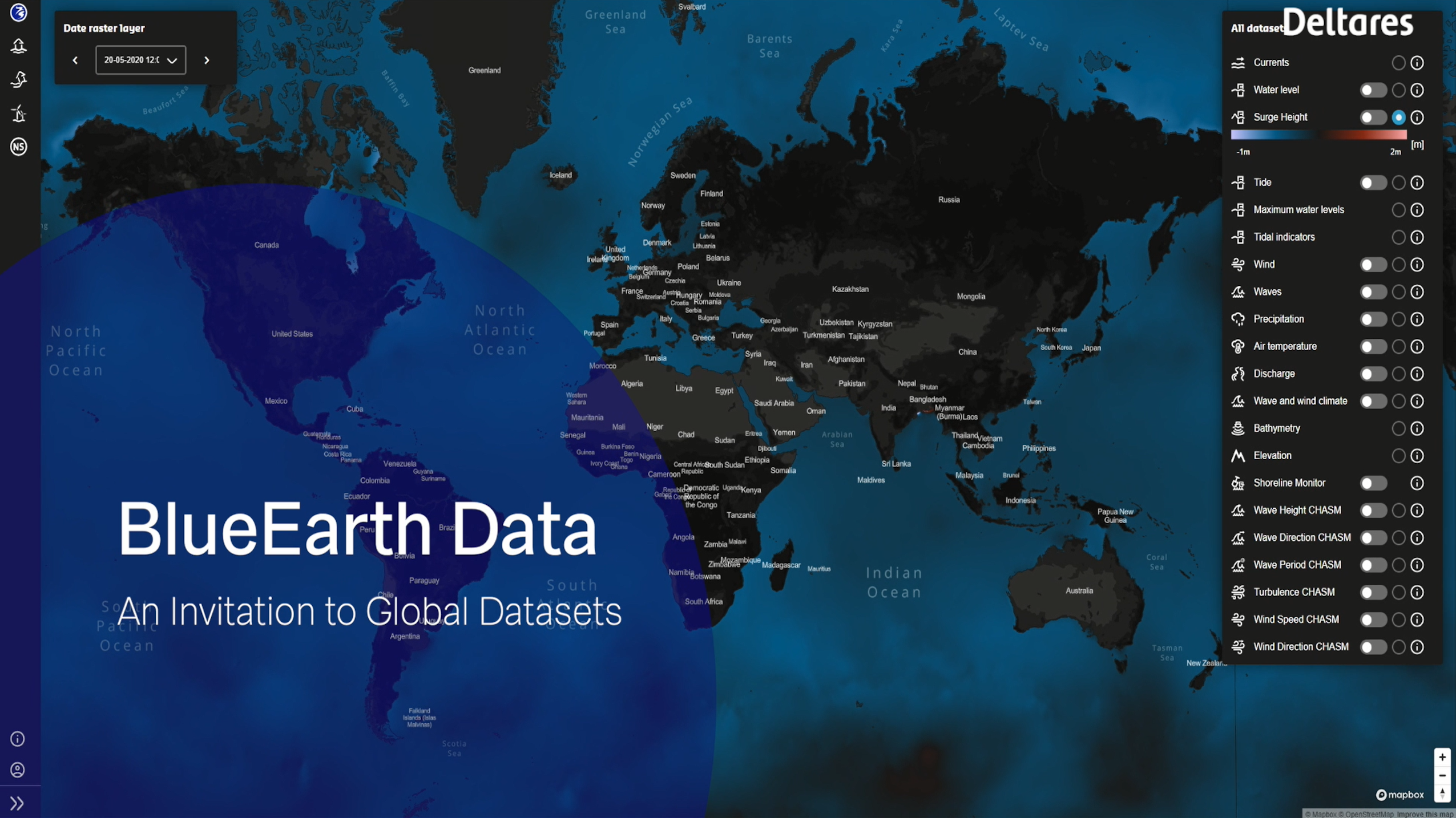 blueearth data platform deltares