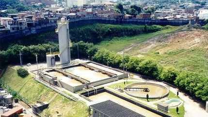 anaerobic treatment plant
