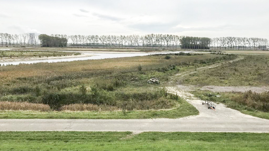 Hedwigepolder piping proef WSHD