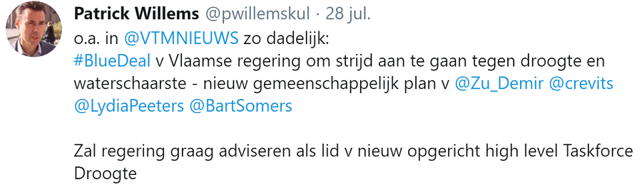 Tweet Patrick Willems